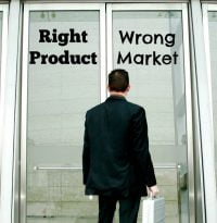 right product wrong business market