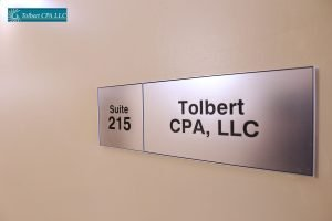 accounting firm office sign