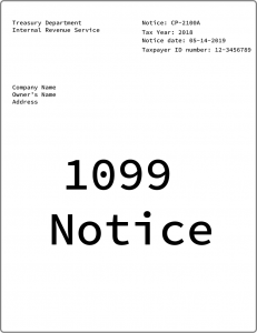 1099 Notice